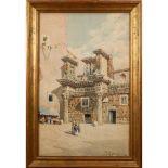 Roberto Gigli Italia 1846-1922 70x44 cm.