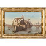 Roman painter 19th century 36x61 cm.