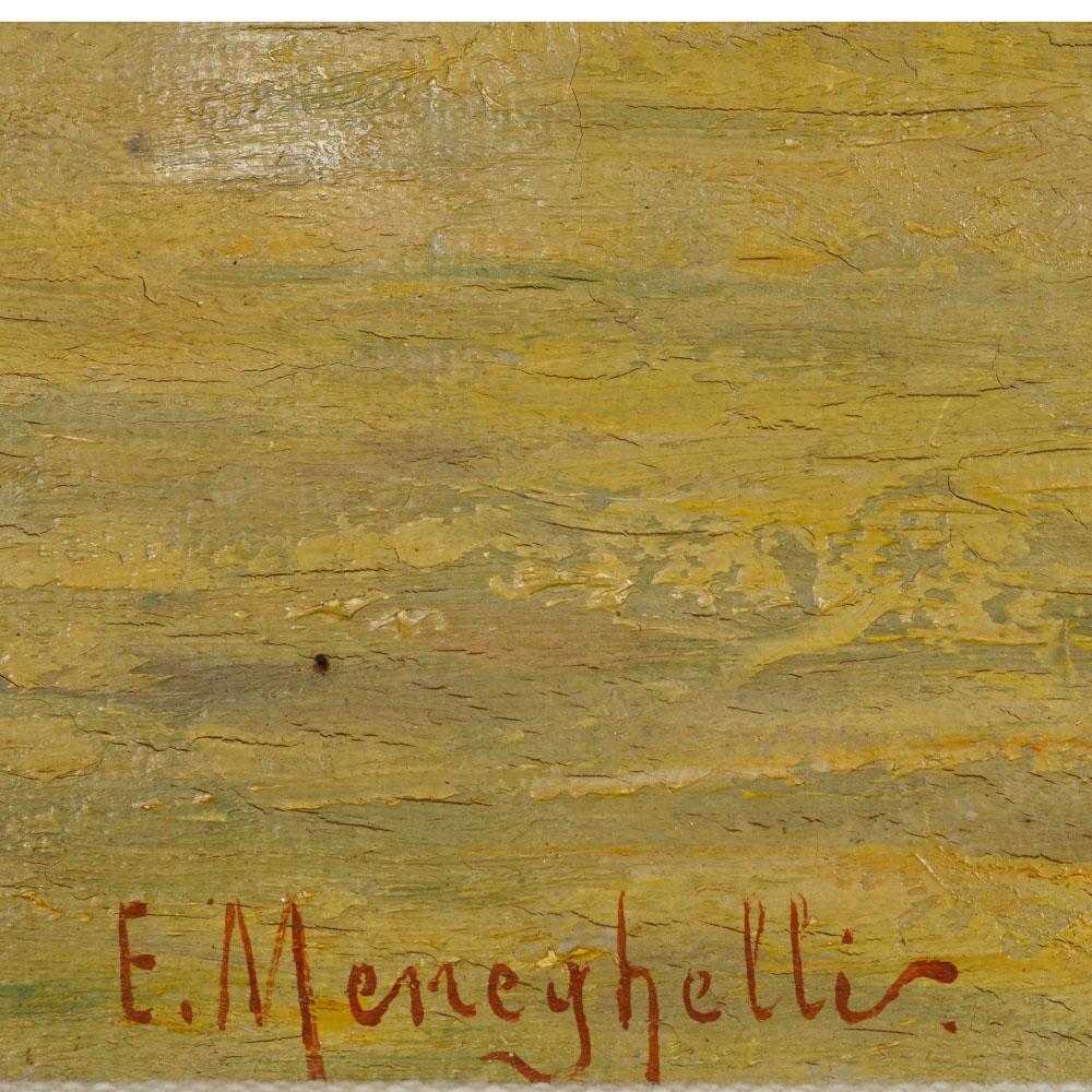 E. Meneghelli 1853 - ? 21,5x27,5 cm. - Image 3 of 3