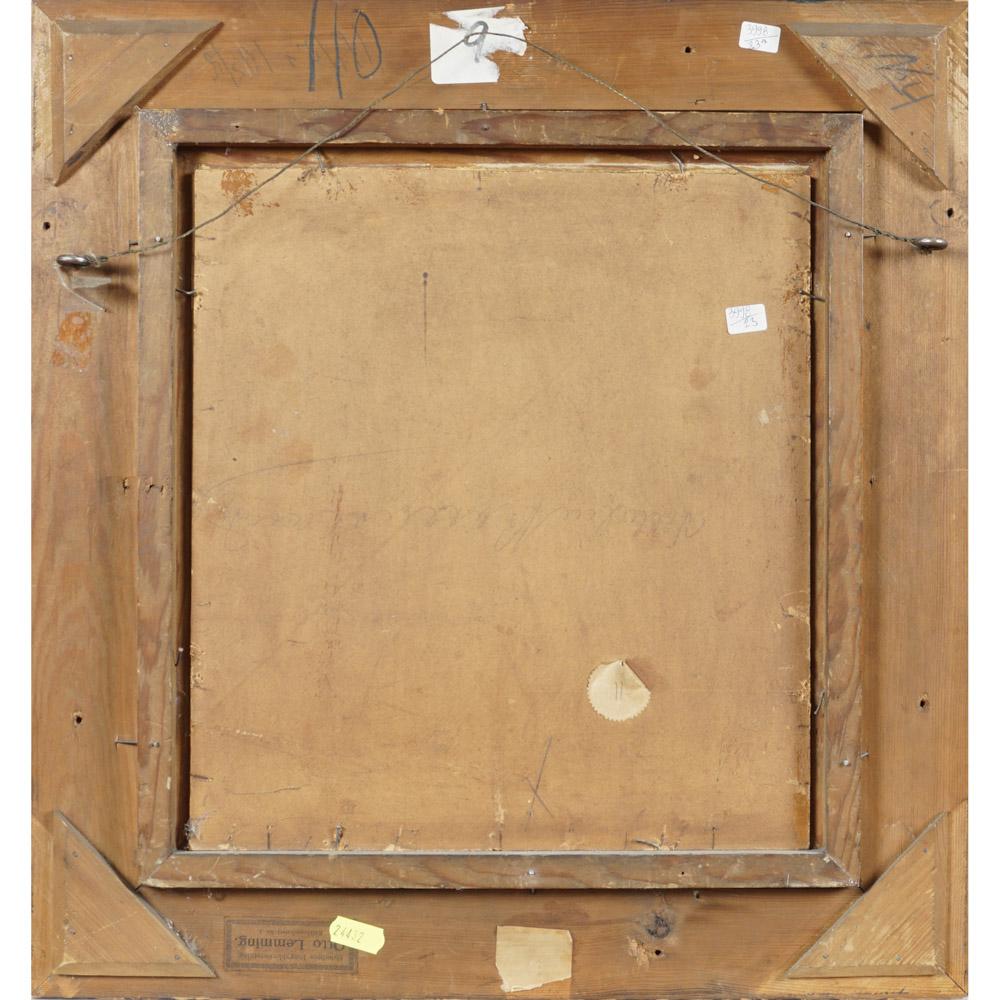 Roman painter 19th Century 31x28,5 cm. - Image 2 of 2