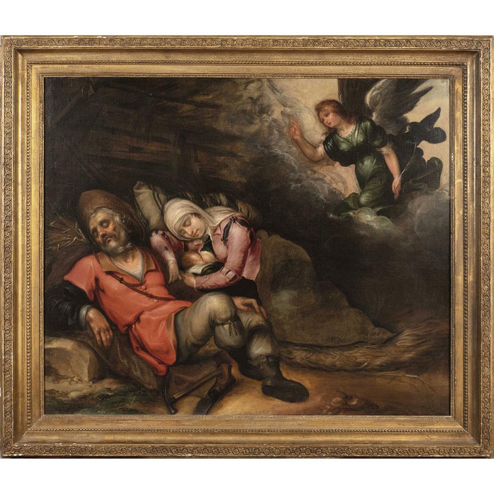 Adrian Bloemaert Utrecht circa 1609 - Aldaar Begraven 1666 82x99 cm.