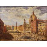 European painter 18th-19th century 75x100 cm.