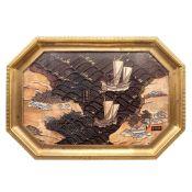 Paul-Charles Sormani France, early 20th century 3x48x34 cm.