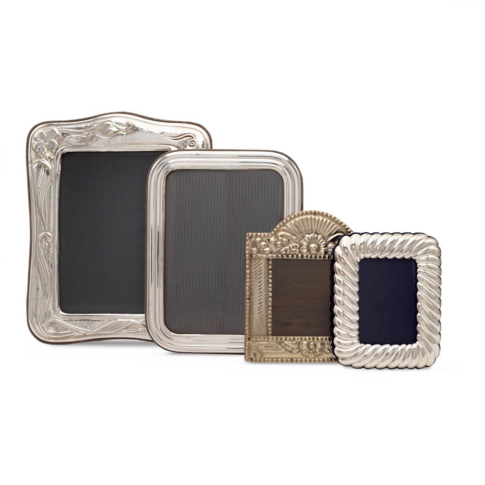 Group of photo frames (4) Italy, 20th century 25x19- 14x11 cm.