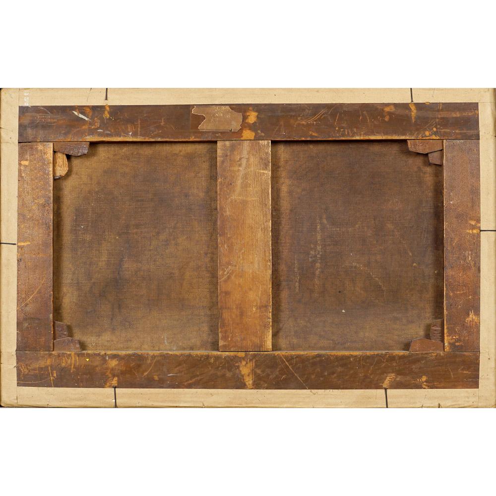 Roman painter 17th-18th century 32,5x50,5 cm. - Image 2 of 2