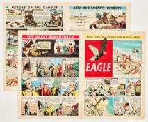 Eagle No 1 promotional issue (1950). This 8 pg full colour comic was distributed to churches and
