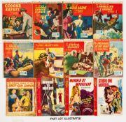 Sexton Blake Library (1952-60) 281, 287, 292, 297, 299, 304, 316, 318, 326, 333, 338, 340, 356, 423,