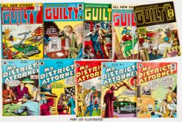 Justice Traps The Guilty Album 1 (Arnold Book Co 1955). Justice Traps The Guilty (Arnold/Strato)