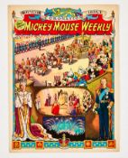 Mickey Mouse Weekly Souvenir Coronation Issue (May 30 1953) [vfn]