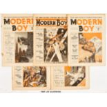 Modern Boy (1938 New Series) 2-5, 7-24 starring Biggles and Captain Justice by W.E. Johns and