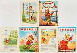 Rupert Adventure Series (D. Express 1959-60) 40-42. Bright covers, white pages. No 40: [vg/fn],