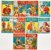 Cowboy Comics (1950-51) 21, 22, 24-29, 31, 32. Nos 21, 25 taped spines [gd-/gd], balance with some