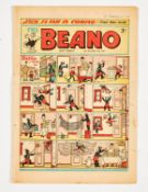 Beano 452 (1951) First Dennis The Menace. Worn copy with edge tears [gd]. No Reserve