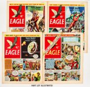 Eagle Vol. 7 (1956) 1-52. Complete year. With Dan Dare in Rogue Planet. Bright flat copies No 13