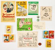 I-Spy for Adventure' Life Membership Kit (News Chronicle, late 1950s) including Secret Codes Book,
