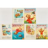 Rupert Adventure Series (D. Express early 1960s) 44-46. Bright covers, white pages. Nos 44, 45: [