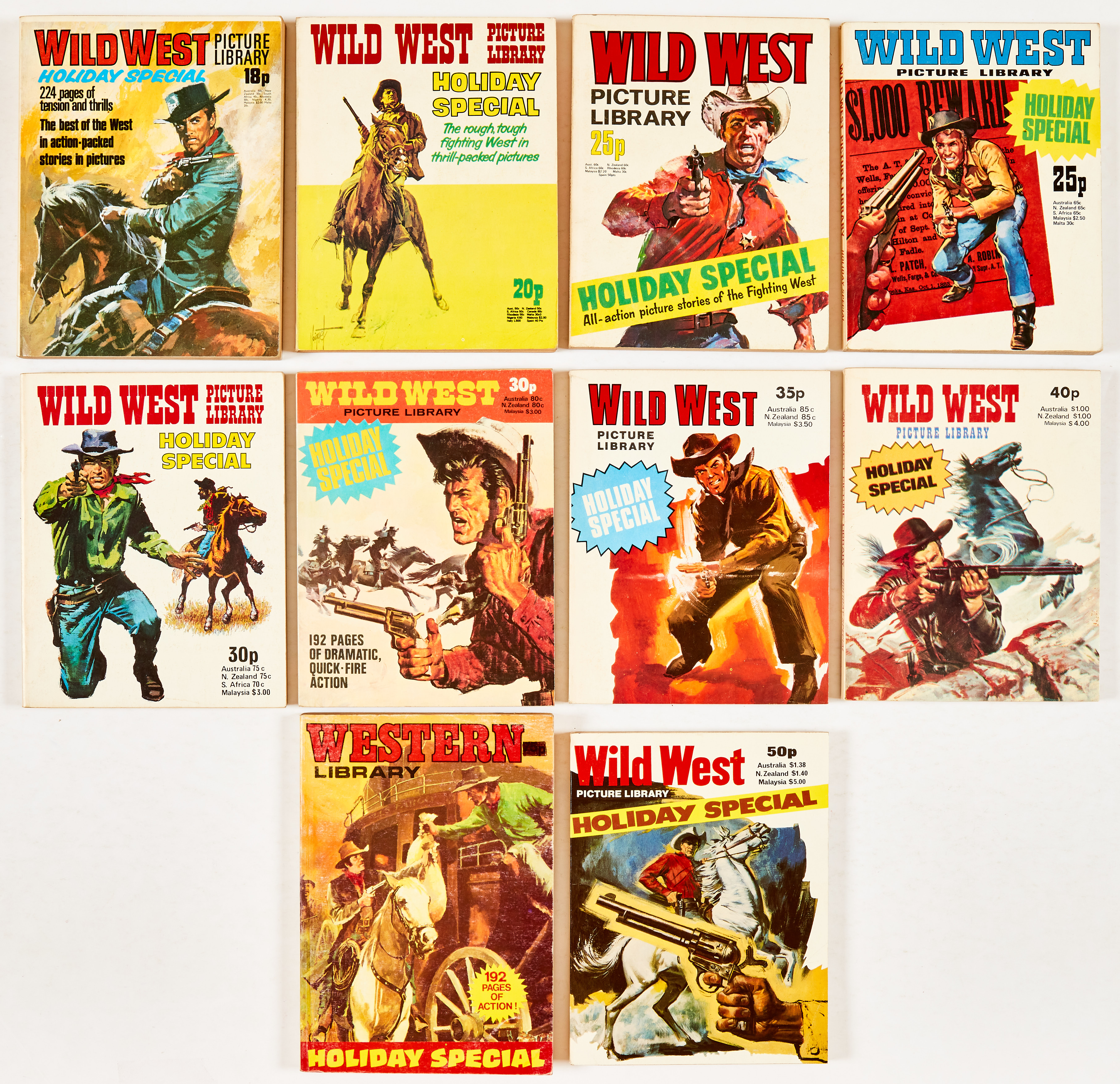 Wild West Picture Library Holiday Special (1973-80, 82) [vfn/nm]. With Western Library Holiday