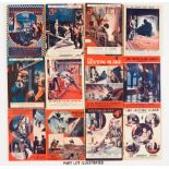 Sexton Blake Library (1st Series 1917-19) 29, 37-39, 41-43, 47, 51, 52, 54, 55, 57, 58, 60, 63,