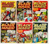 Black Magic Album 1 (Arnold Book Co 1954) with Black Magic (1953) 6, 8, 13, 15, 16. Album 1 (fn-],