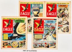 Eagle Vol. 6 (1955) 1-52. Complete year. Starring Dan Dare in Prisoners of Space and The Man from