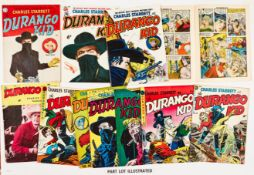 Durango Kid (1952-53 Cartoon Art). 1-23, 25-27, 29-31 and Bumper Double Issue. 8 issues with Dan