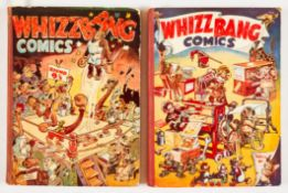Whizz Bang Comics Annuals 1, 2 (1942, '43) Amalgamated Press propaganda war issues. Roy Wilson,