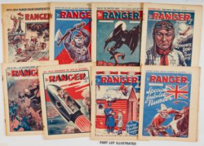 The Ranger (1933-35) 1-112 last issue including Special Jubilee Number. Bright covers, cream
