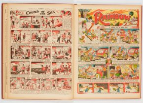 Rainbow (Jan-Jun 1948) 1571-1583. Publisher's file copies in half-year bound volume. Starring