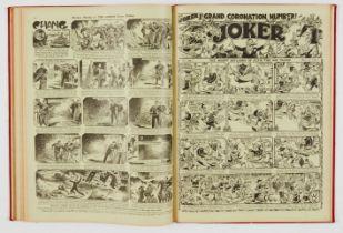 Joker (Jan-Jun 1937) 479 (Xmas) - 504 including Coronation Number. In half-year bound volume.