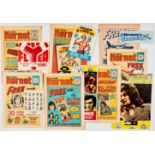 Hornet 1970s with free gifts. 419 wfg Hi-Flyer Boomerang, 420 wfg Be A Super Boy book, 475 wfg