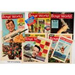 Boy's World (1963-64) Vol 1: 1-49, Vol 2: 1-40, the complete 89 issues run before amalgamation