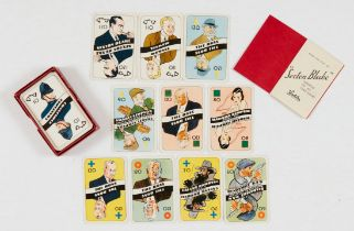 Sexton Blake Card Game (1920s) Waddingtons. With original box, rules and complete 60 card set.