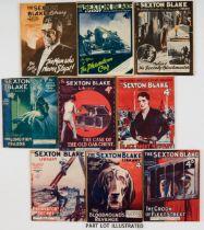 Sexton Blake Library (2nd Series 1925-26) 9-12, 19, 27, 30, 36, 37, 39, 40, 52-54, 62-66, 68, 71,