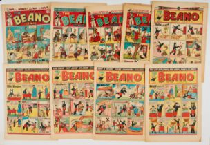 Beano (1945-54) 250, 284, 302, 304, 474, 584, 592 including 1st Alf Wit The Ancient Brit and General