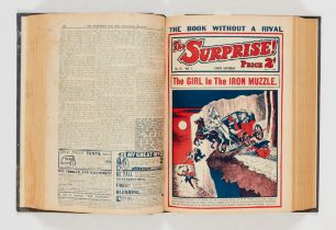 The Surprise (1932) 1-26 in bound volume. Starring The Phantom Thief, The Ace of 'Tecs and When
