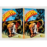 Daily Mirror Book of Garth 1975 (IPC). Cover and fully illustrated 128 pages by Frank Bellamy. Small