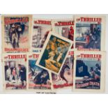 The Thriller (1929) 1-47. Complete year with No 54 (1930). Wfg Midnight Gold booklet starring Sexton