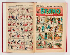 Beano (1948) 326-351. Complete year in bound volume (issued fortnightly). No 326 last Big Eggo