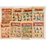 Beano (1959) 859-873, 876, 882-885 [gd-/vg] (20). With low grade Beanos: No 39 (1939) brittle