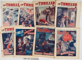 The Thriller (1933-34) 43 issues between 205-304 with Raffles by Barry Perowne and stories by John