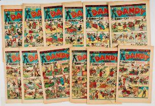 Dandy (1947-49) 336, 340, 343, 346, 347, 349, 351, 352, 401, 416, 418, 419. Nos 336, 416, 418 [