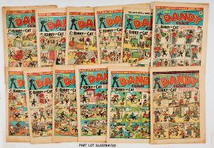 Dandy (1945-46) 285, 311, 314, 317, 319, 321, 322, 324-328, 330. First Julius Sneezer, The