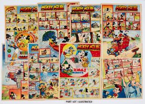 Mickey Mouse (1945) Jan 13-Dec 29. Near complete year missing June 2nd. Issued fortnightly. May 5