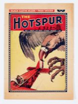 Hotspur 1 (1933) Bright cover with small piece missing from RH cover edge, slight horizontal cover