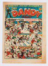 Dandy 334 (1946) Bumper Xmas Number [vg+]