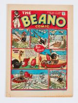 Beano No 108 (17 Aug 1940). Propaganda war issue. Hitler and Goering fight Lord Snooty in