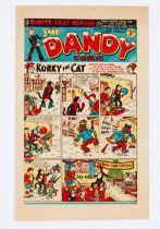 Dandy 422 (1949) Bumper Xmas Number [fn-]