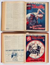 The Thriller (1935) 309-360. Complete year in two bound volumes. Publisher's file copies of Philomel