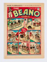 Beano No 89 (6 Apr 1940). Bright covers, cream pages [fn/vfn]