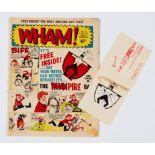 Wham! 15 (1964) wfg Whampire Bat on original card. Gift as new, comic [vg]